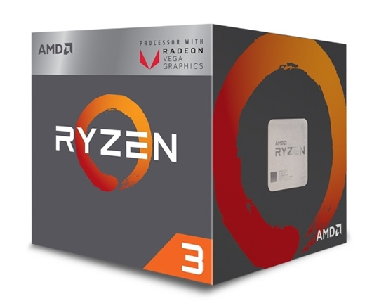 Slika od AMD Ryzen 3 2200G, 4C/4T, 3.5GHz,RX VEGA, box, AM4